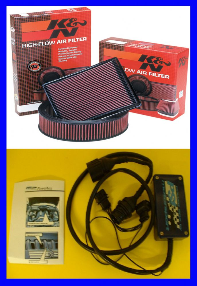 PSI Power Power Pack Discovery TD5 - UNIT + K/N FILTER